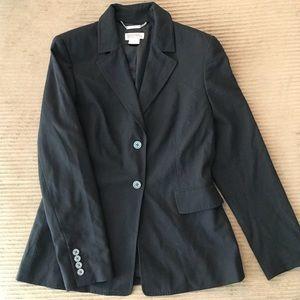 Michael Kors black double button blazer